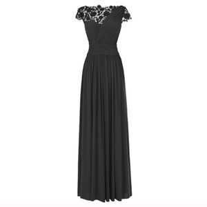 Dresses & Skirts - Bridesmaids Long Chiffon Prom Evening Gown